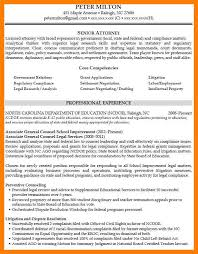 6 Experienced Attorney Resume Samples Pennart Appreciation Society