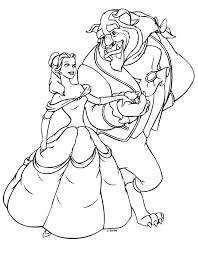 Princess Belle Coloring Pages Belle Coloring Pages Free Printable