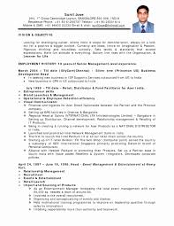 Sample Resume Format For Teaching Profession Inspirational Resume