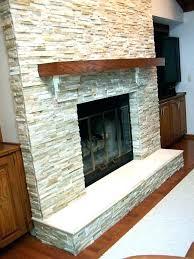 wood beam fireplace mantel how