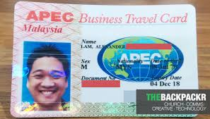 Apec Business Travel Card Application Instructions For Malaysia