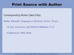 mla works cited quotes the owl mla formatting power point