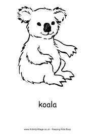 koala colouring page 460 0 coloring