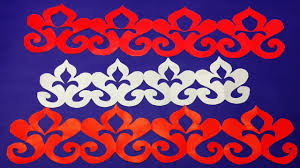Diy Paper Border For Decorations How To Make Easy Paper Cutting Border Design Easy Craft