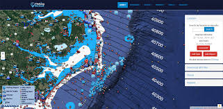 Hatteras And Oregon Inlet Loran Lines On Fishing Map The
