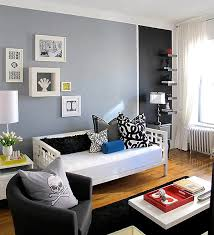 Painting Small Spaces by Color Blocking