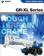 Rough Terrain Crane Gr 550xl Tadano America Tadano America