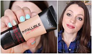 l oreal infallible pro matte foundation review demo should you it you