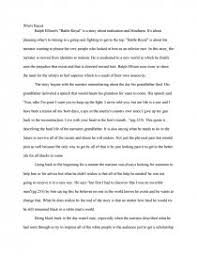 racism in battle royal college essays similar essays