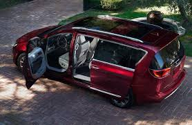 2018 chrysler pacifica interior. beautiful interior overhead view of the 2018 chrysler pacifica with its doors open with chrysler pacifica interior
