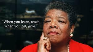Maya Angelou Famous Quotes Enchanting Famous Education Quotes Maya Angelou Quotesta