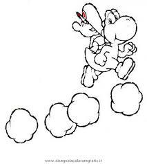 Disegno Yoshi6 Personaggio Cartone Animato Da Colorare