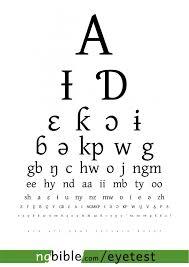 Eye Test The Nigerian Bible Site