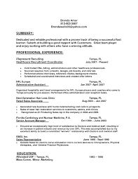 Ideas Of Sales Representative Resume Sample Experience Resumes
