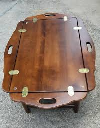 tray coffee table birch wood