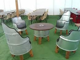 drum furniture. Patio Set Drum Furniture