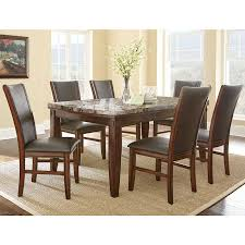amusing brown rectangle modern wooden costco dining table stained ideas