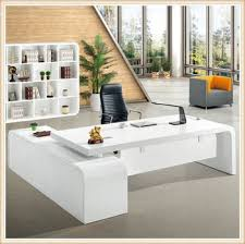 latest office designs. Glossy White Latest Office Table Designs For Counter Design E