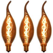 sun light bulbs sunlight watt incandescent light tip chandelier light bulbs 3 packs cfc s volt watt candelabra base flame tip led daylight bulbs for plants