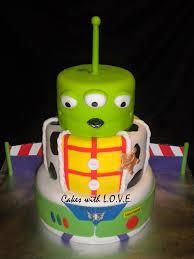 Three Layer Disney Toy Story Birthday Cake Disney Every Day