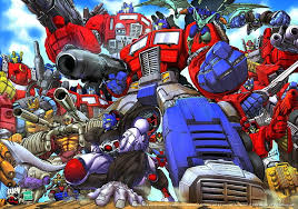 megatron optimus prime hd wallpaper