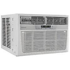 ac and heat window unit. frigidaire 8,000 btu 115v compact slide-out chasis air conditioner/heat pump with remote ac and heat window unit