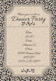 dinner party invites templates dinner party invitation template dinner party invitation template