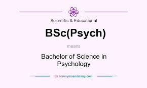 what does bsc stand for what does bsc psych mean definition of bsc psych bsc psych