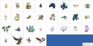 The Spriters Resource - Full Sheet View - Pokémon Sun / Moon - Alola Dex  Previews (5th Generation, Shiny)