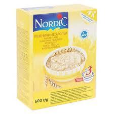 <b>Хлопья NORDIC пшеничные</b> 600г арт.8027559 в гипермаркете ...