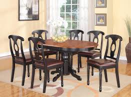 full size of kitchen ideas dark wood dining table with white chairs black kitchen table