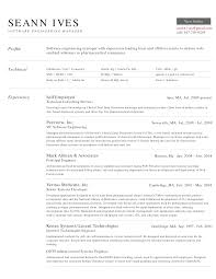 Job Wining Software Engineering Manager Resume Sample And