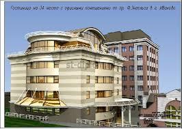 Дипломная работа по ПГС местная гостиница с офисными  2 Перспектива 2