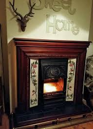 victorian style electric fireplace suite