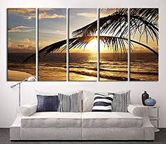 extra large wall art beach and sunset canvas print seascape canvas print large on amazon extra large wall art with amazon extra large wall art beach and sunset canvas print