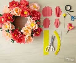 Paper Crafted Flowers Diy Paper Flowers Template Paper Flowers And Pompoms Pinterest