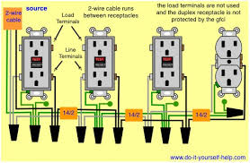gfci wiring multiple outlets wiring diagram for gfci outlet gfci wiring multiple outlets wiring diagram for gfci outlet