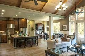 kitchen living house floor plans