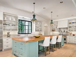 beach style lighting. Relaxed Beach Style Kitchen With Industrial Lighting E