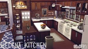 sims 4 kitchen design. helena kitchen by alwayolive at simkea sims 4 design