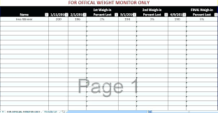 Weight Lifting Templates Strength Training Excel Template Metabots Co