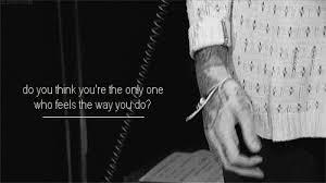 Bring Me The Horizon Quotes Adorable Gif Black And White Text Sad Quotes Perfect Lyrics Tattoos Live