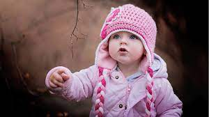 1920x1080 Cute Baby in Winter 1080P ...