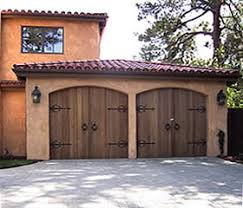 carriage house garage doorsCarriage House Custom Wood Garage Doors  Destin  Panama City