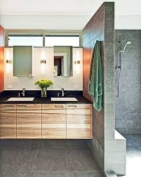 modern bathroom lighting. View In Gallery Modern Bathroom With Stylish Lighting G