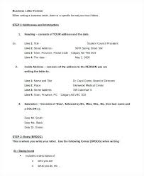 Professional Business Letters Examples Free Formal Business Letter Professional Example Medical Sample