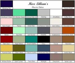 Miss Lillian S Chock Paint Color Chart More Fabulous Colors By Miss Lillians No Wax Chock Paint In