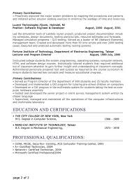 Example of professional resume and get inspiration to create a good resume  20