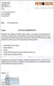 Letter Of Recommendation For Civil Engineer Letters Experience Certificate New Work Letter Pdf Format Save Valid