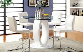 seate extraordinary high glass dining and ashley pedestal extendable dimension furniture large gloss chairs round modern